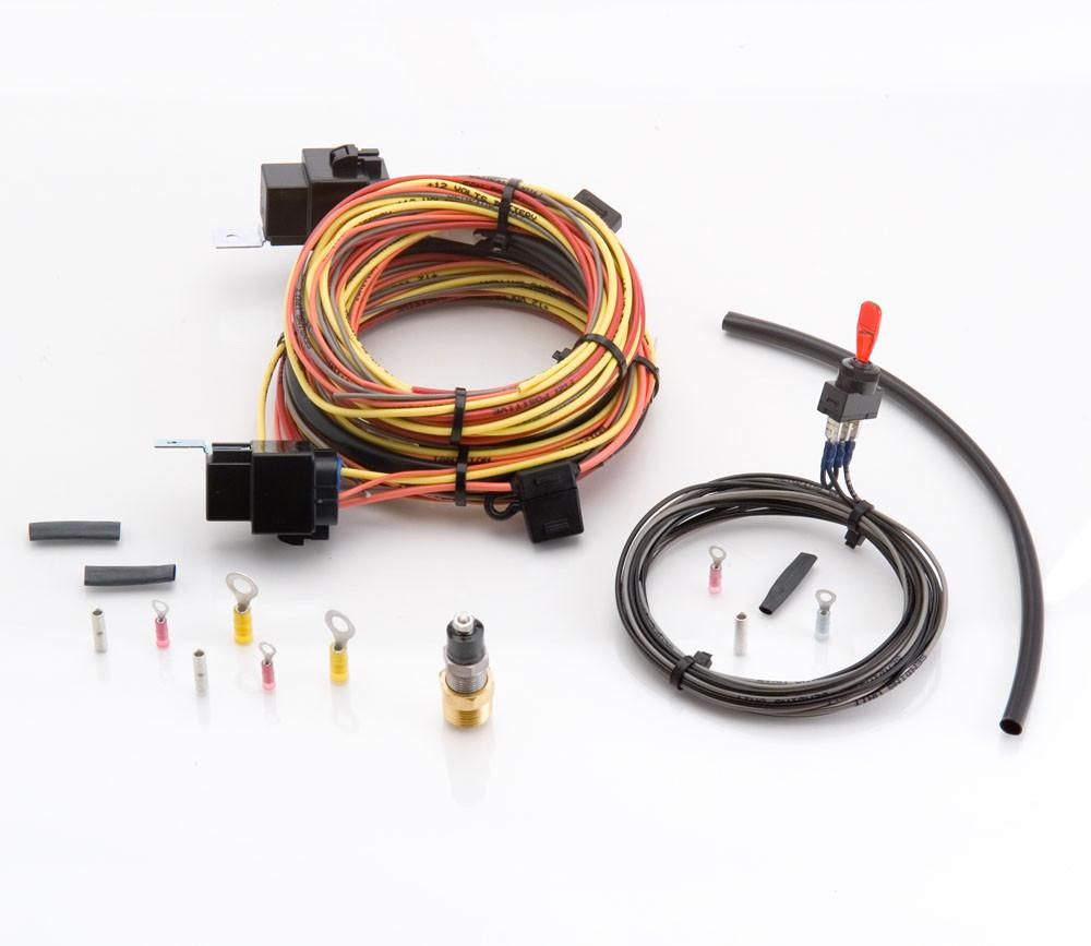Single Electric Fan Wiring Kit W Toggle Switch And 40 Amp
