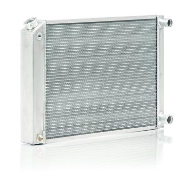 Dual 1 Core Be Cool 35039 20AN InletCircle Track Single Pass Radiator